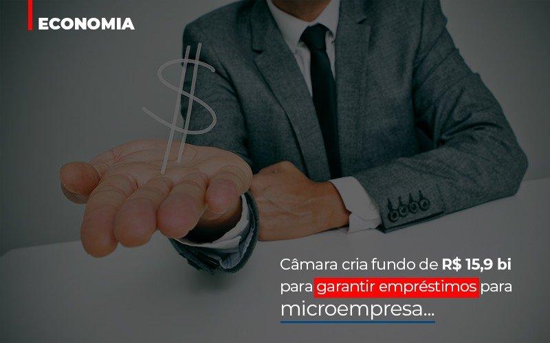 Camara Cria Fundo De Rs 15 9 Bi Para Garantir Emprestimos Para Microempresa Notícias E Artigos Contábeis - Contabilidade no Piauí   Império Contábil
