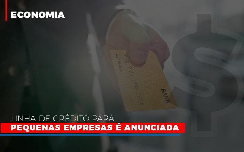 Linha De Credito Para Pequenas Para Pequenas Empresas E Anunciada Notícias E Artigos Contábeis - Contabilidade no Piauí | Império Contábil