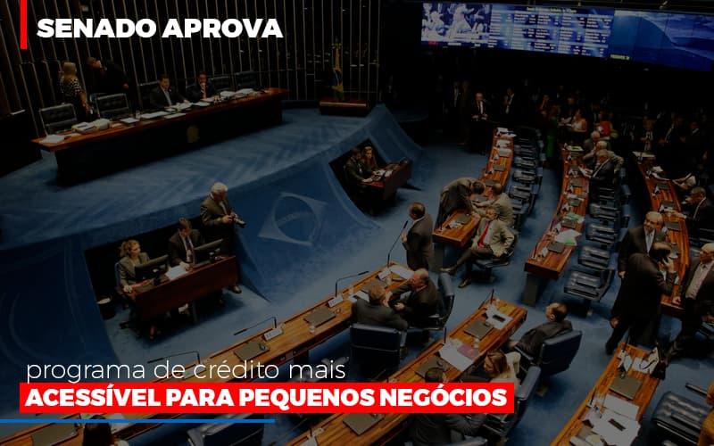 Senado Aprova Programa De Credito Mais Acessivel Para Pequenos Negocios Notícias E Artigos Contábeis - Contabilidade no Piauí | Império Contábil